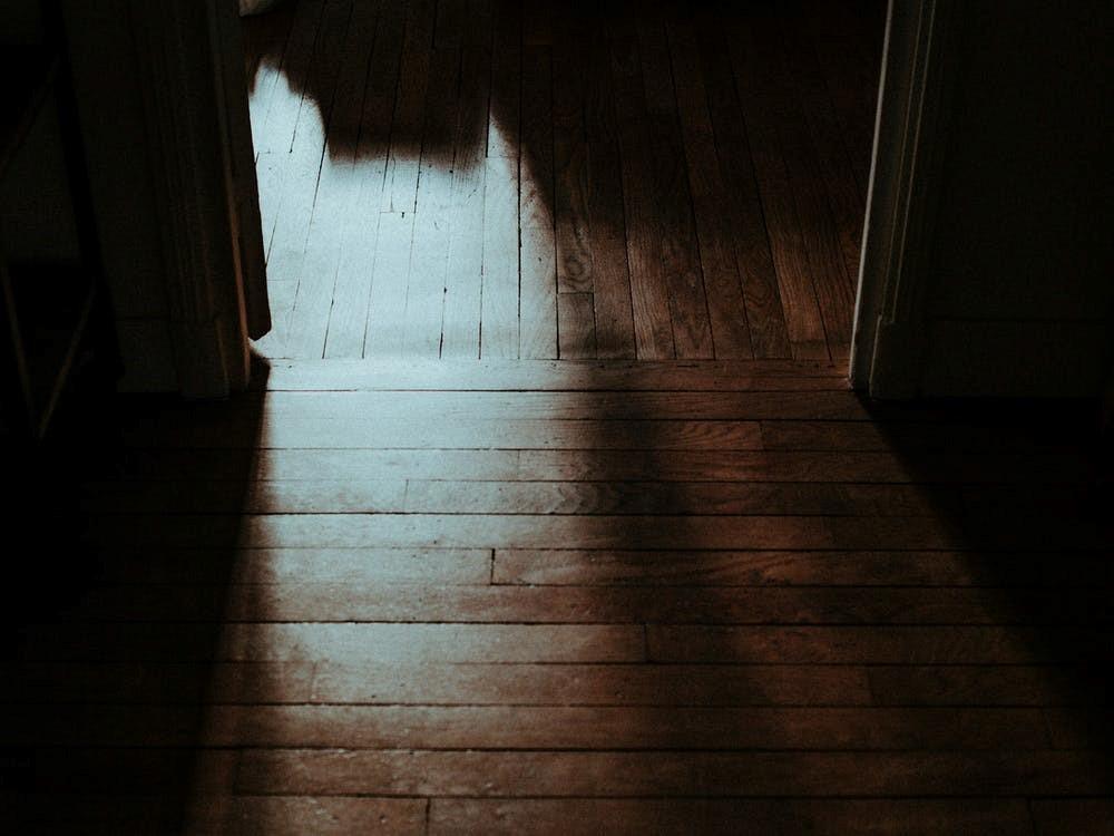Shadows on a Wooden Floor